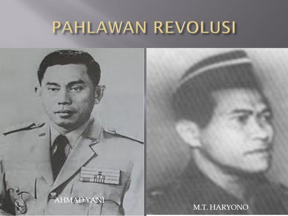AHMAD YANI M.T. HARYONO