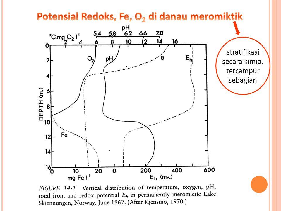  Dinamika Cu (tembaga) sangat dipengaruhi oleh kondisi redoks sebagaimana pada Fe.
