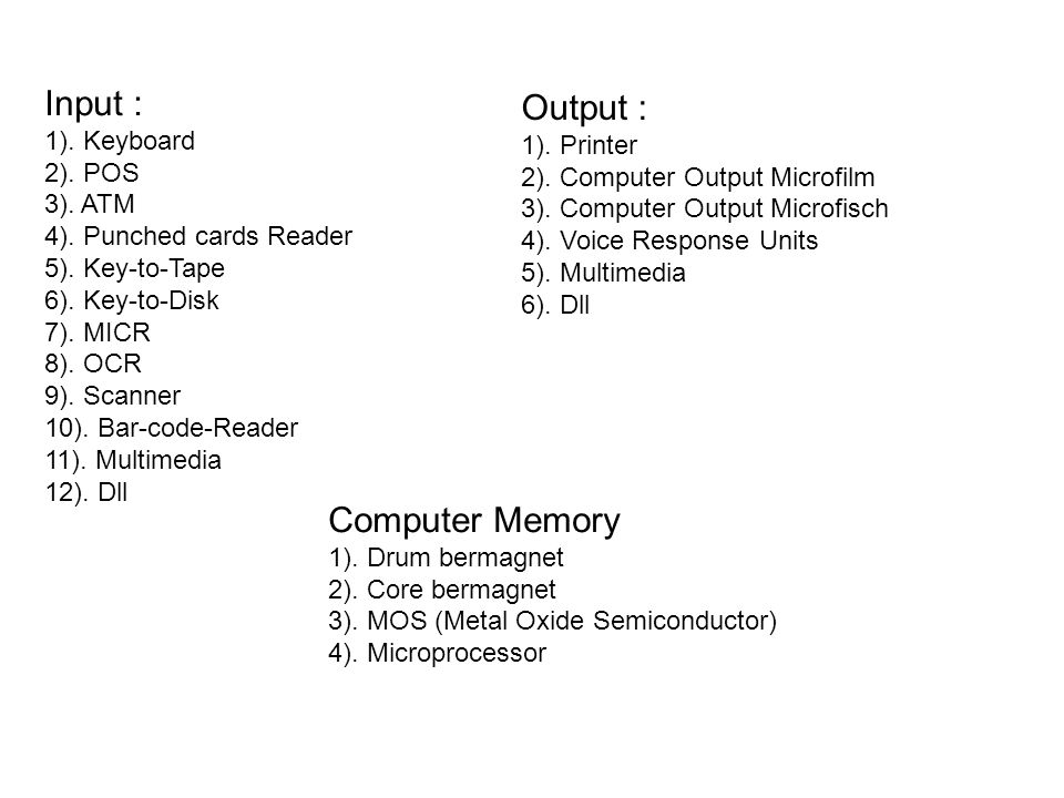 Sistem Pengoperasian mempunyai dua komponen dasar yaitu : 1.Shell (dlm bukunya Kenneth C.Loudon dikenal dengan Job Control Translator) 2.Kernel (Supervisor, Executive, Master program, Monitor, Control program)