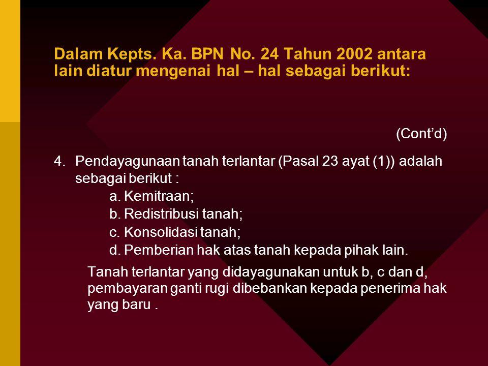 Catatan terhadap PP No.36 Tahun 1998 jo. Kept. Ka.