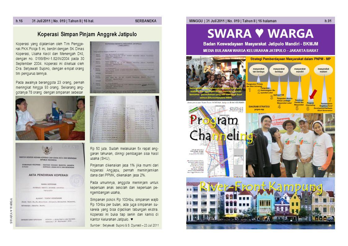 h.02 31 Juli 2011 | No. 019 | Tahun II | 16 hal.