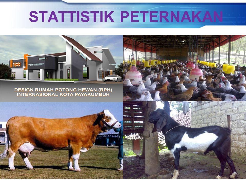 Direktorat Statistik Peternakan, Perikanan, dan Kehutanan BADAN PUSAT STATISTIK STATTISTIK PETERNAKAN