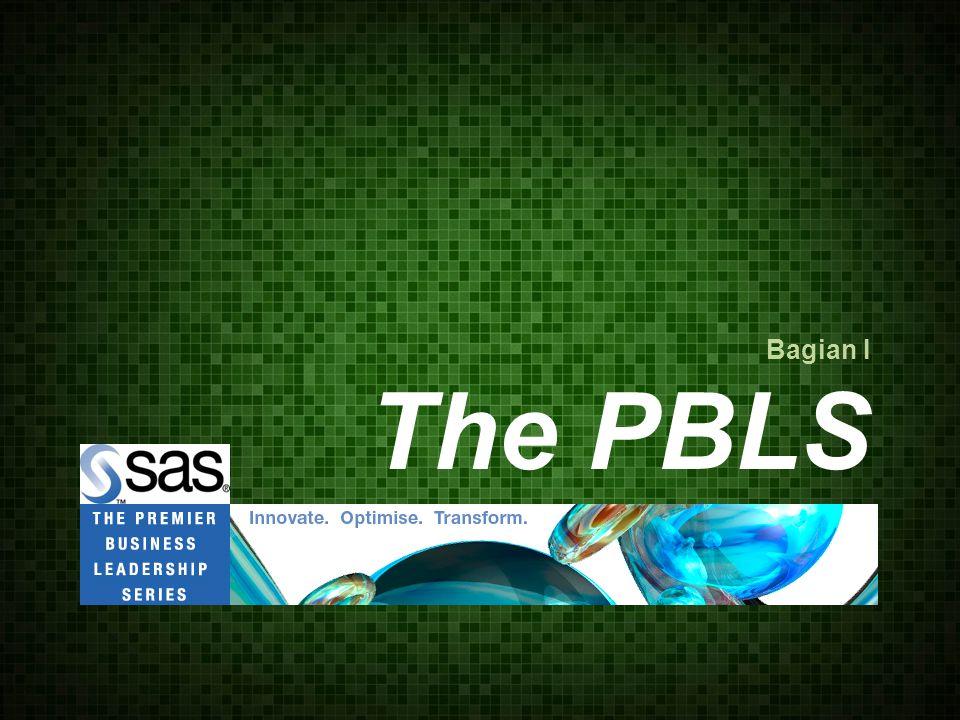 Bagian I The PBLS