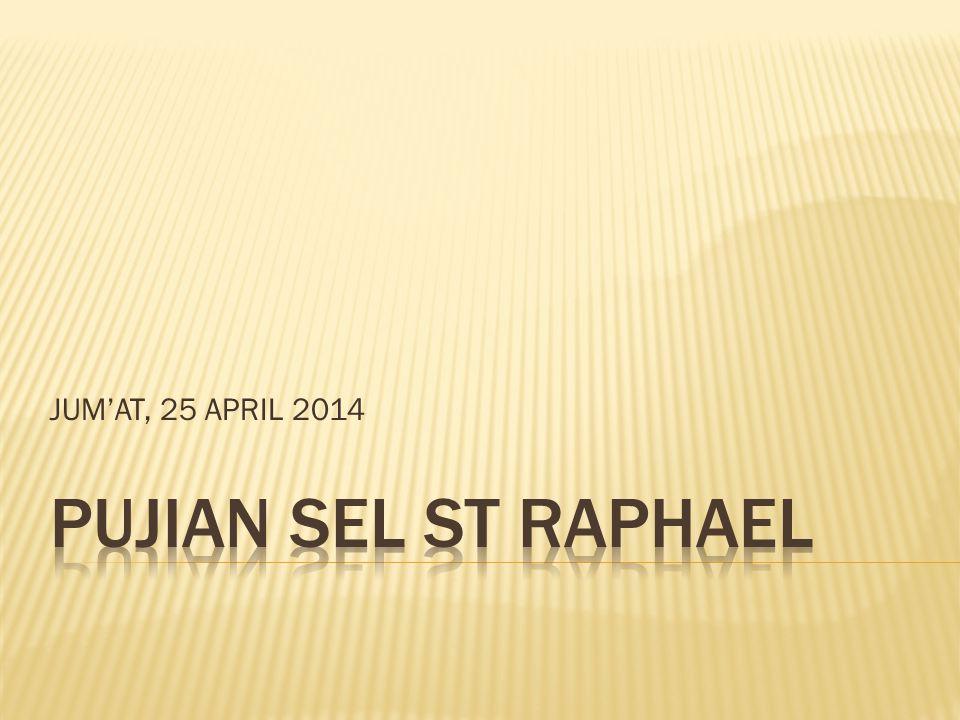 JUM'AT, 25 APRIL 2014