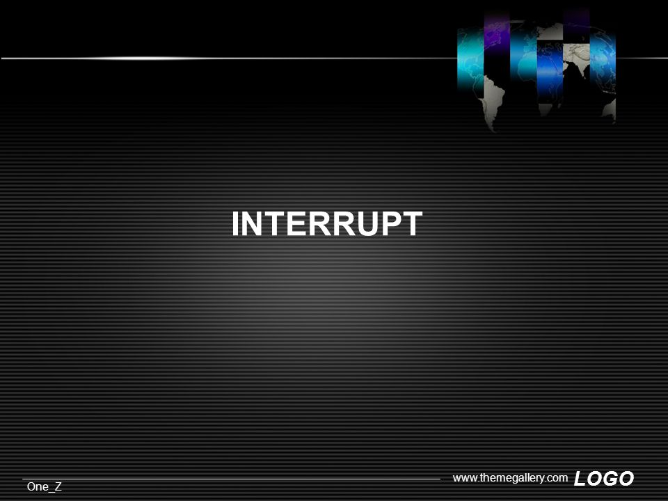 LOGO One_Z   INTERRUPT
