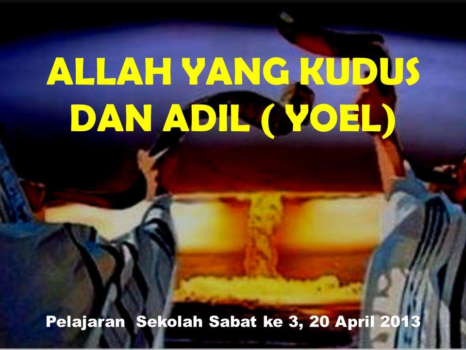 Ayat Hafalan : Dan TUHAN memperdengarkan suara-Nya di depan tentara-Nya.