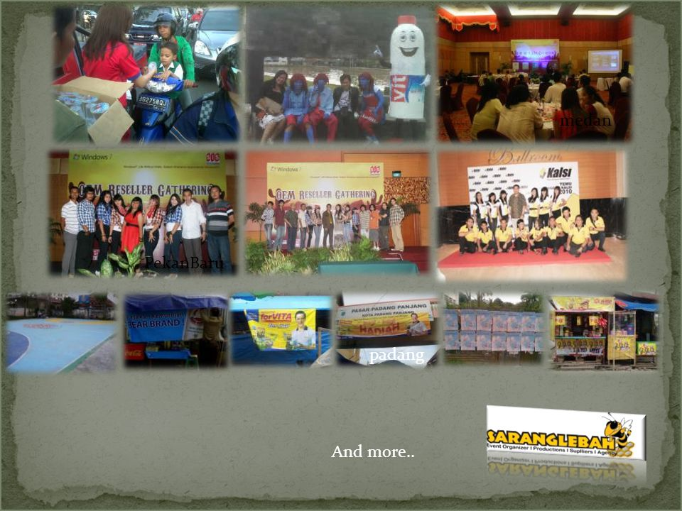 CV.SarangLebah BASE of Sumatra : Jl. Teratai II No.