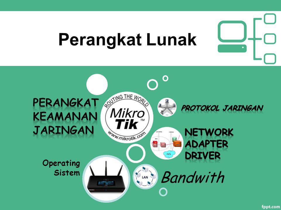 Perangkat Lunak Operating Sistem Bandwith