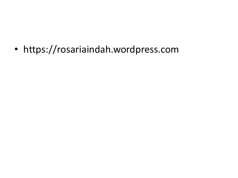 https://rosariaindah.wordpress.com