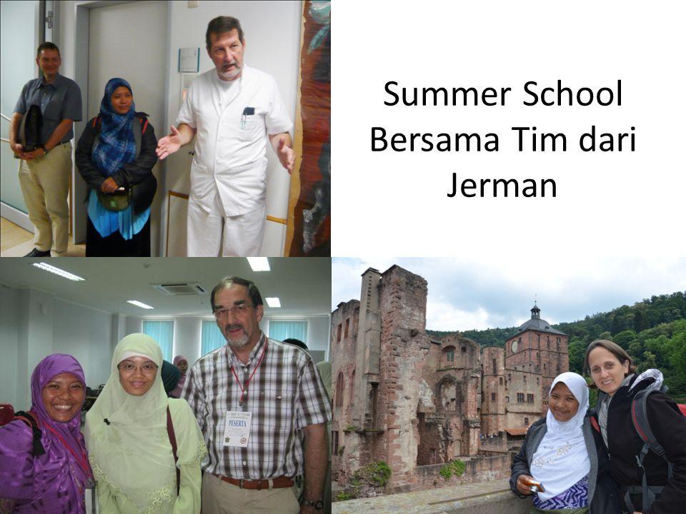 Summer School Bersama Tim dari Jerman