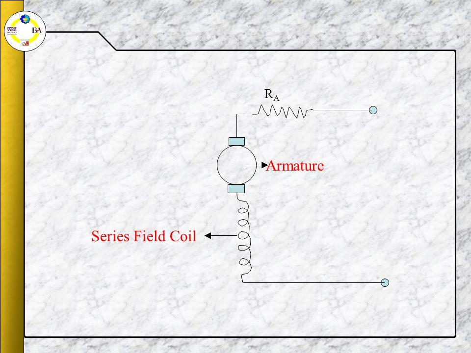 Series Field Coil Armature RARA