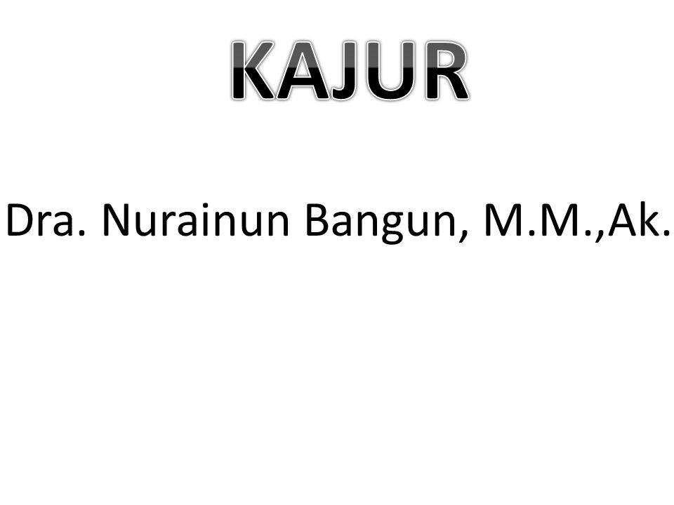 Dra. Nurainun Bangun, M.M.,Ak.