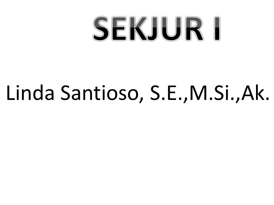 Linda Santioso, S.E.,M.Si.,Ak.