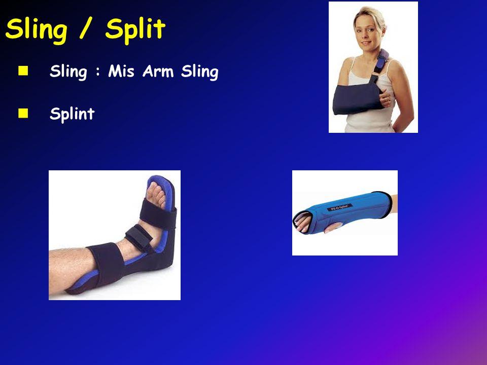 Sling / Split Sling : Mis Arm Sling Splint