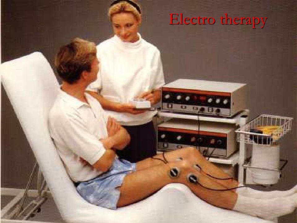 Definisi Fisioterapi sebelum 1995 : Ilmu dan Seni pengobatan yang menggunakan khasiat Sumber fisis, misalnya Panas, Dingin, Sinar, Arus Listrik, Palpa