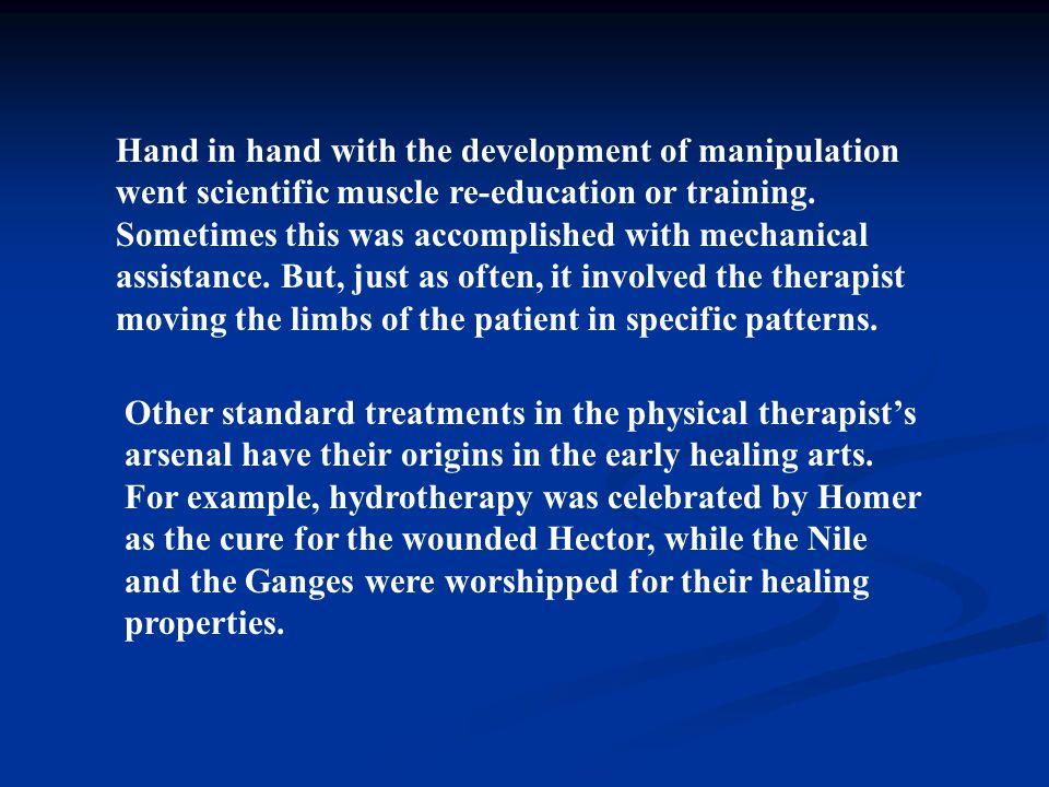 WCPT mengharapkan pemaduan dan penyelarasan pengembangan praktek spesialis dengan mengambil definisi dan acuan sebagai berikut: Fisioterapi spesialis adalah aplikasi lanjut dari kewenangan klinis yang dilakukan fisioterapis yang qualified pada area praktek tertentu dalam lingkup aktivitas yang diakui sebagai fisioterapi..