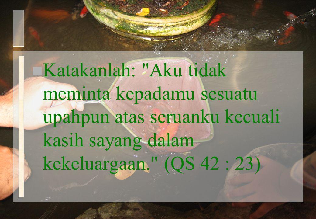 n Katakanlah: