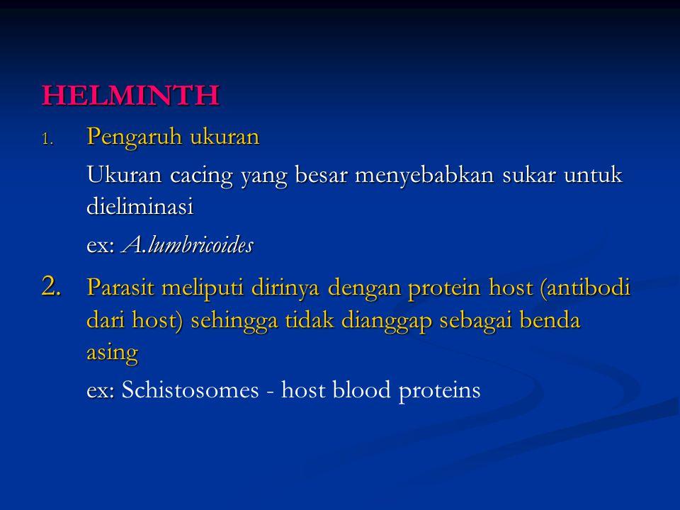 "6. Anti-immune mechanisms Mencegah ""attachment"" dan fagositosis Leishmania – menghasilkan zat yang bersifat anti oksidan untuk mengatasi ""macrophage o"