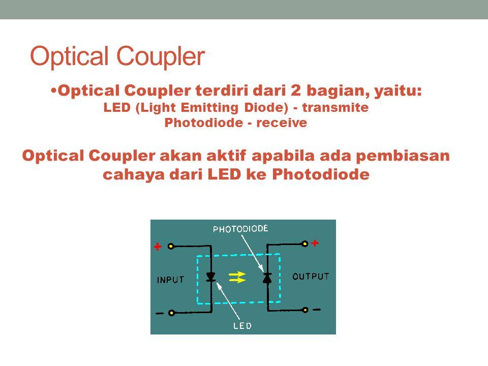 Photodiode Prinsip kerja : Energi pancaran cahaya yang jatuh pada pertemuan pn menyebabkan sebuah elektron berpindah ke tingkat energi yang lebih tinggi.