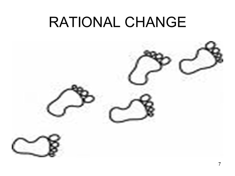 8 STEP BY STEP CHANGE