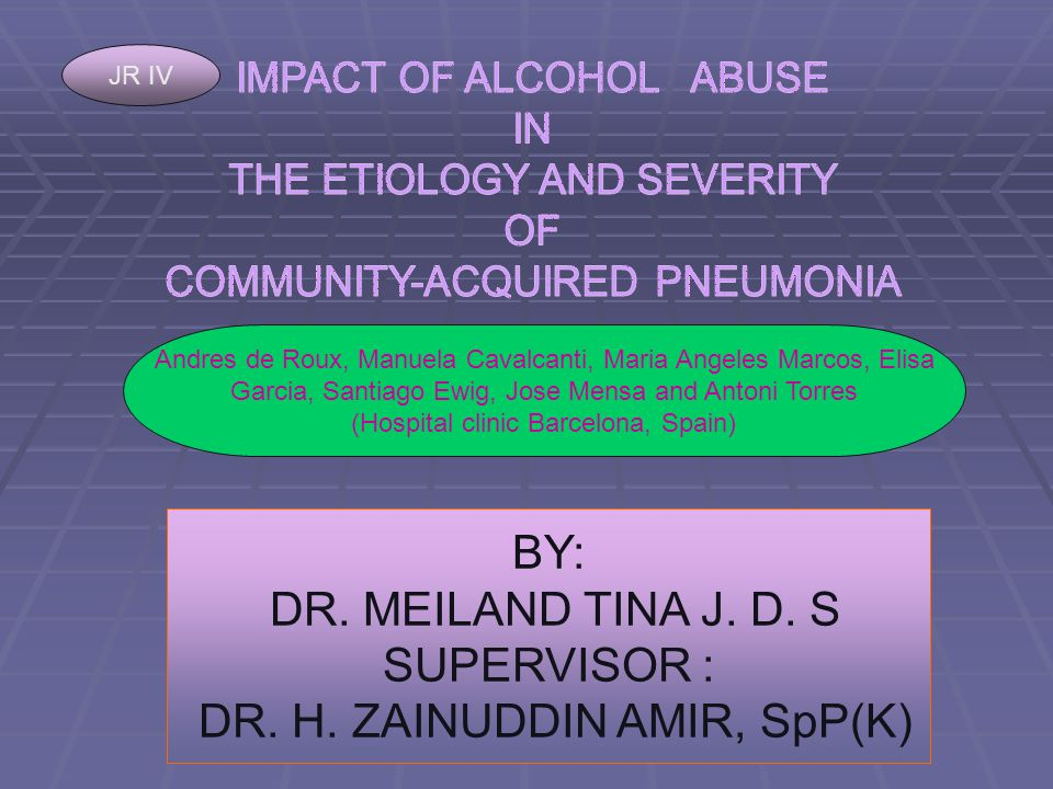 BY: DR. MEILAND TINA J. D. S SUPERVISOR : DR. H.