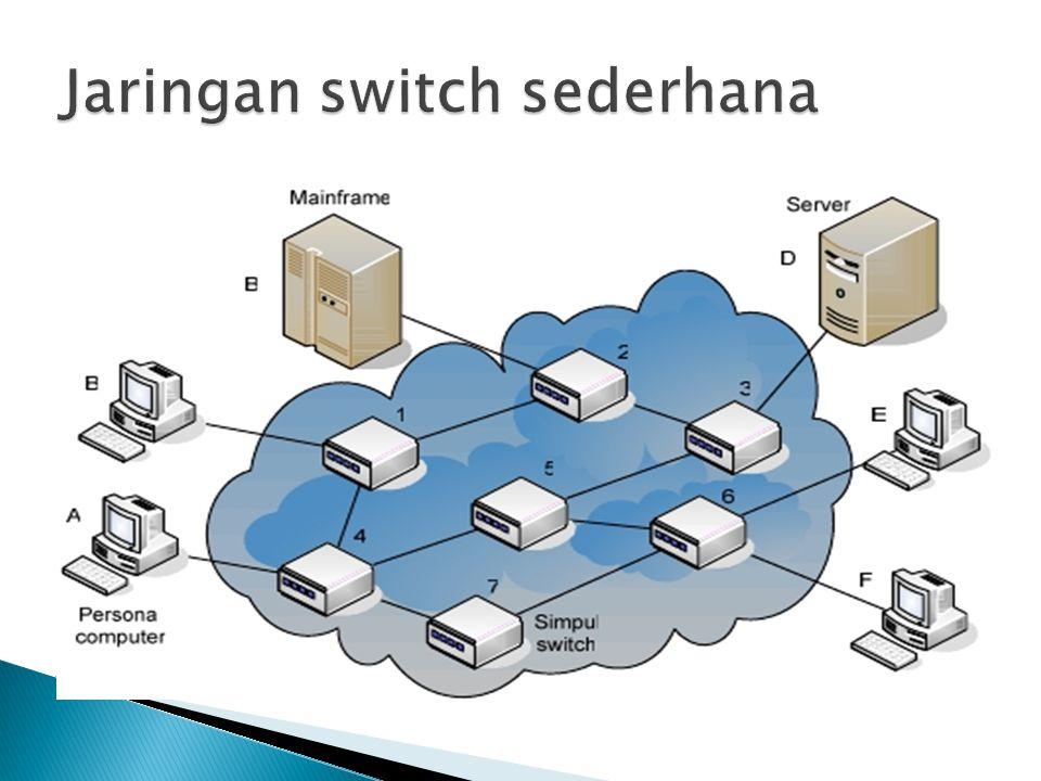 Paket switching diperkenalkan tahun 1971 melalui proyek ARPA-net, paket switching telah dikembangkan dan masih dimanfaatkan hingga kini terutama pada jaringan internet.