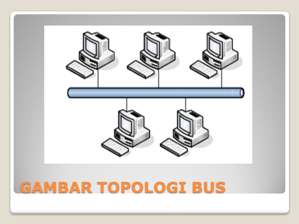 GAMBAR TOPOLOGI BUS