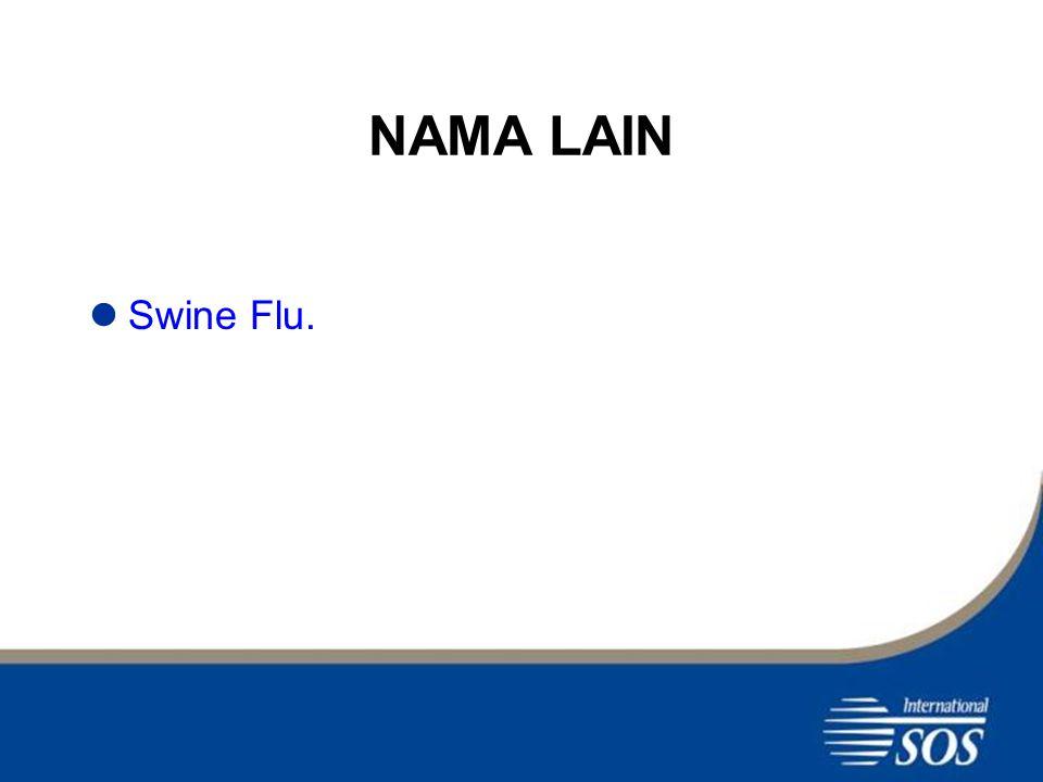 NAMA LAIN Swine Flu.