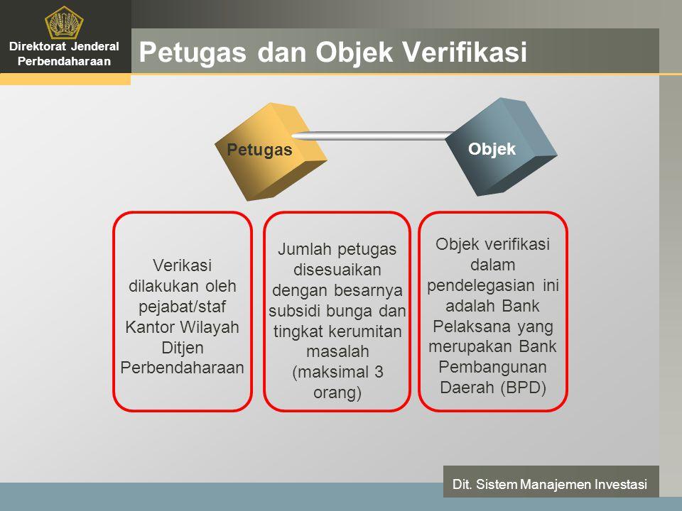 LOGO Petugas dan Objek Verifikasi Direktorat Jenderal Perbendaharaan Dit.