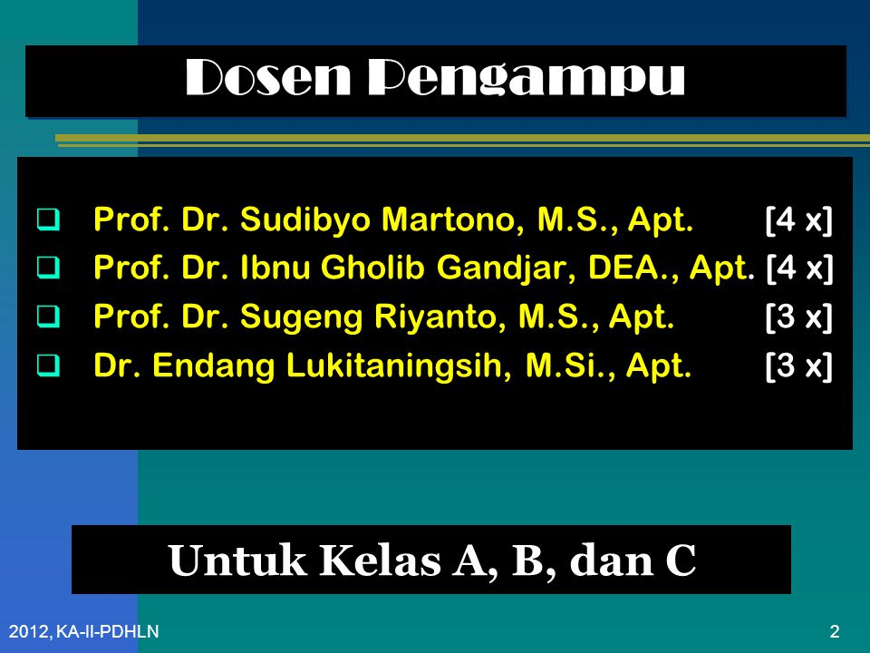 Prof.Dr. Sudibyo Martono, M.S., Apt.
