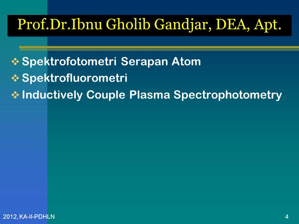 2012, KA-II-PDHLN Prof.Dr. Sugeng Riyanto, M.S., Apt.