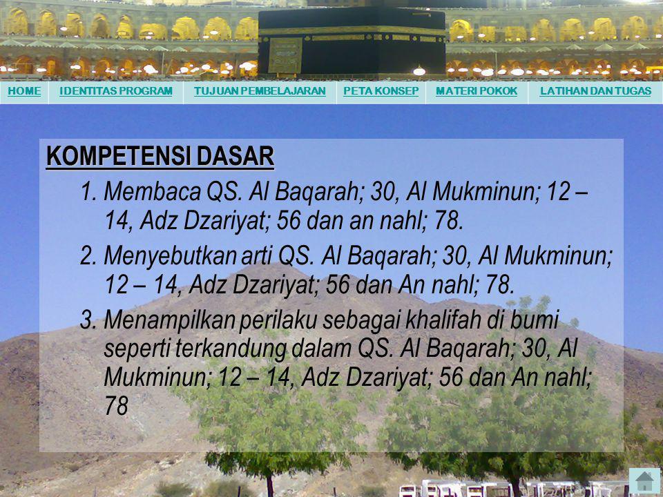 Pendidikan AGAMA ISLAM untuk SMA kelas X disusun oleh : MGMP PAI SMA/SMK Kabupaten Jombang MANUSIA DAN TUGASNYA SEBAGAI KHOLIFAH DI BUMI