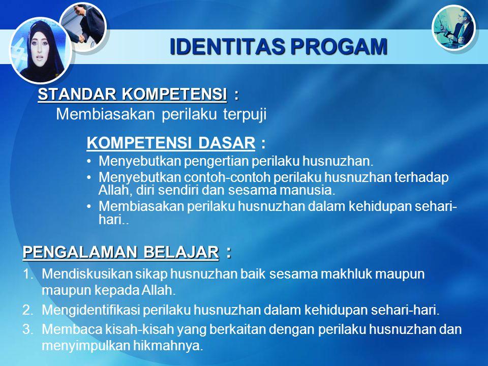 Main Menu Identitas Program Peta Konsep Materi Pelajaran Latihan dan Tugas 1 2 4 33