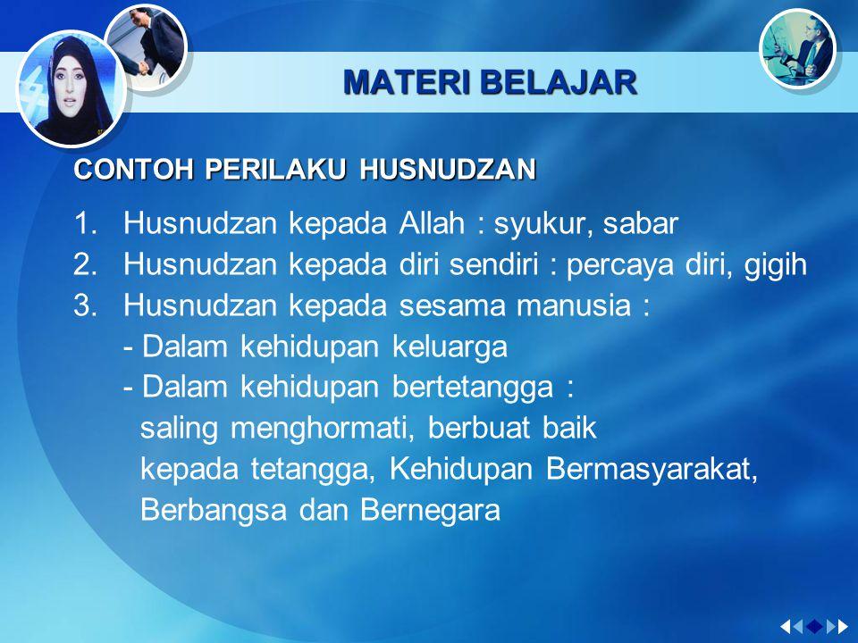 MATERI BELAJAR Dari Abu Hurairah ra., ia berkata : Rasuulullah saw.