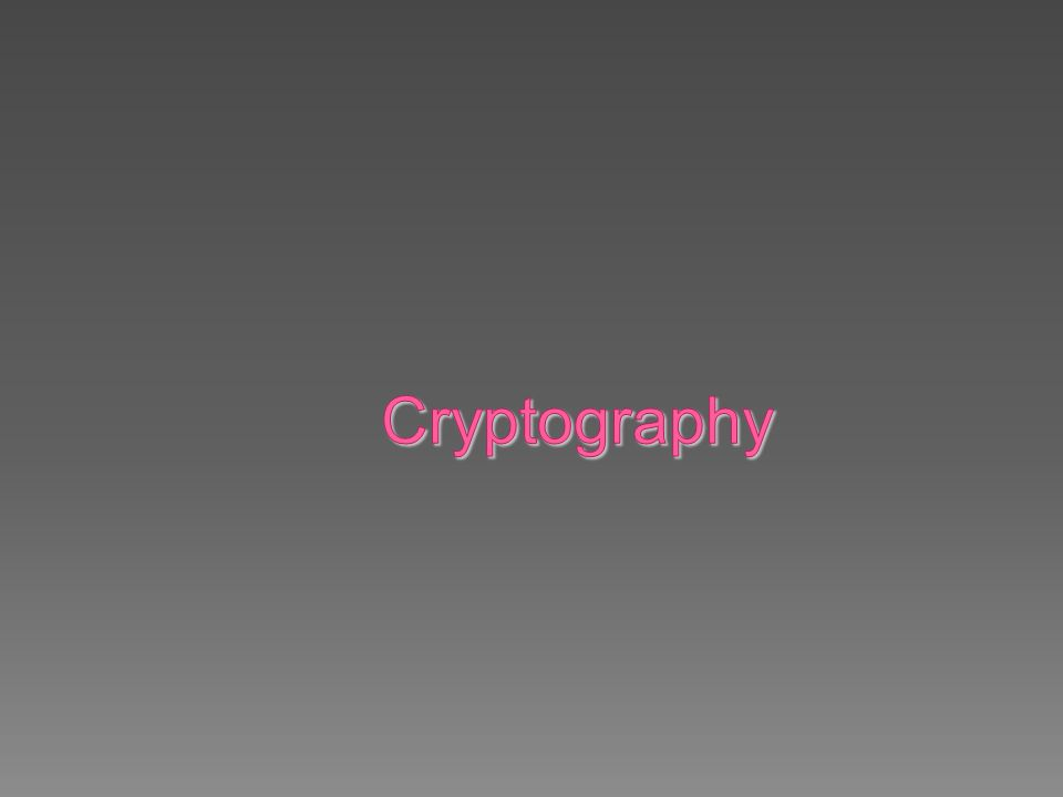Contoh algoritma yang menggunakan model tersebut:  Metode Substitusi Sederhana  Metode Cipher Tranposisi