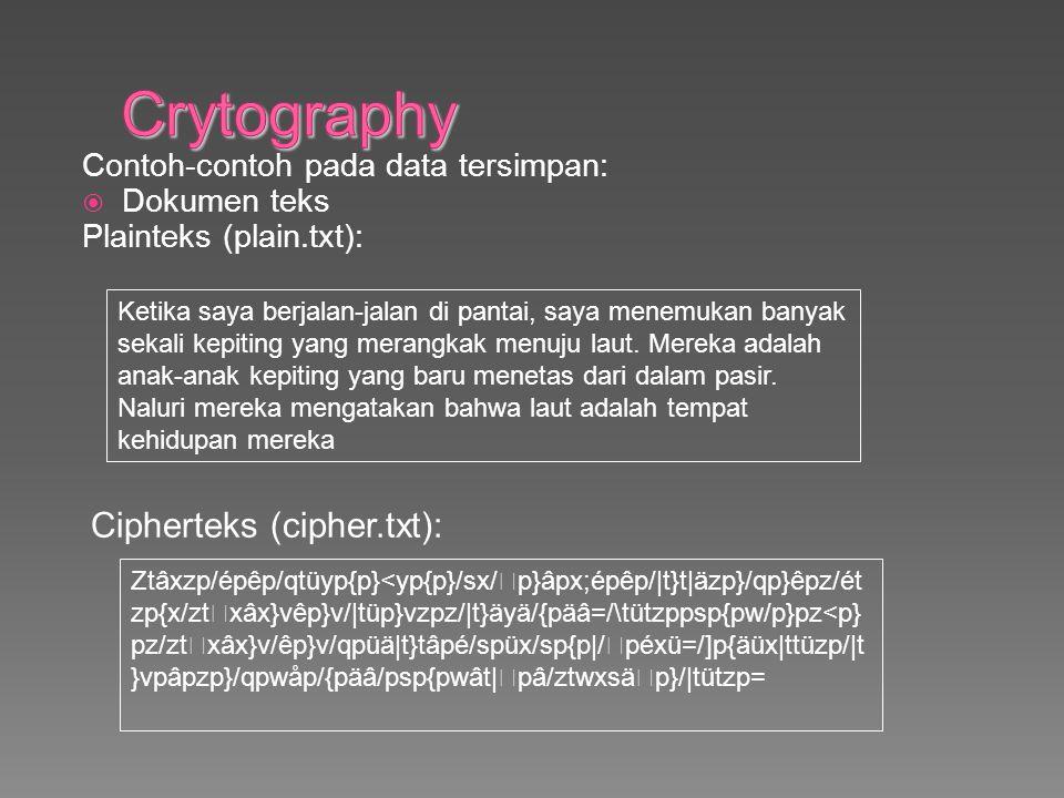  Dokumen gambar Cipherteks (lena2.bmp): plainteks (lena.bmp):
