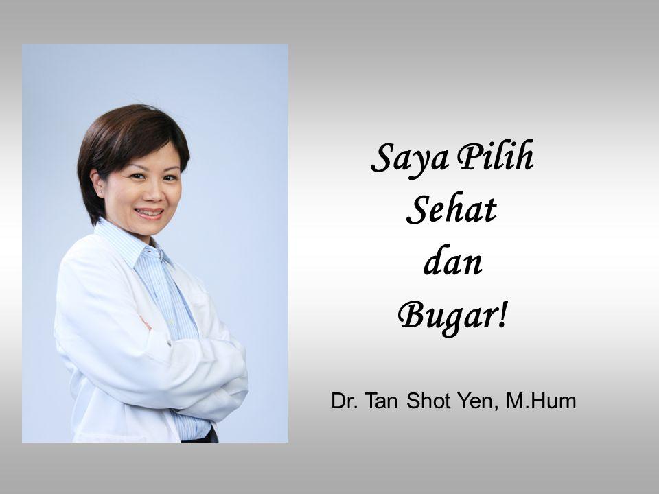 Sehat-Bukan Sekedar Tidak Adanya Penyakit Manusia hidup bukan hanya dari tubuh saja.