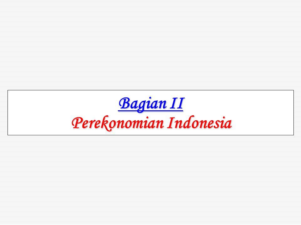 Bagian II Perekonomian Indonesia