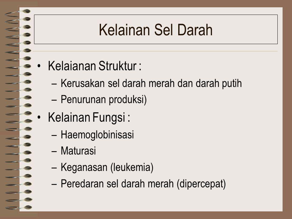 Kerusakan ginjal dan kandung kemih Kelaianan struktur (kerusakan nepron, Glomerulus, tubulus, renal ischemia) Kelaianan fungsi –Exretory, scretory, re