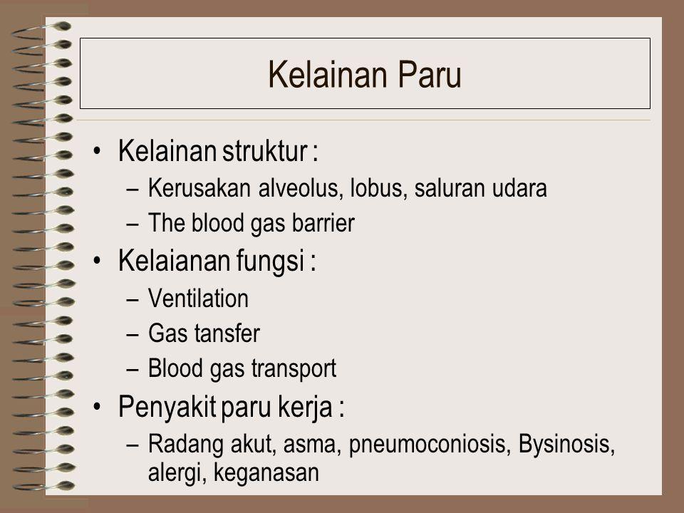 Kelainan Sel Darah Kelaianan Struktur : –Kerusakan sel darah merah dan darah putih –Penurunan produksi) Kelainan Fungsi : –Haemoglobinisasi –Maturasi