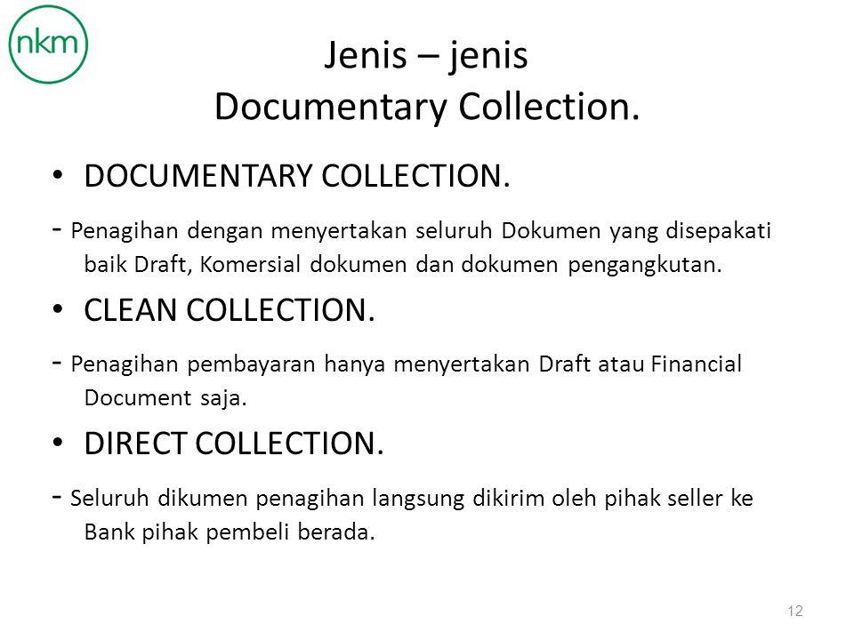 Perintah atau Instruksi dalam Documentary Collection Documents Against Payment.