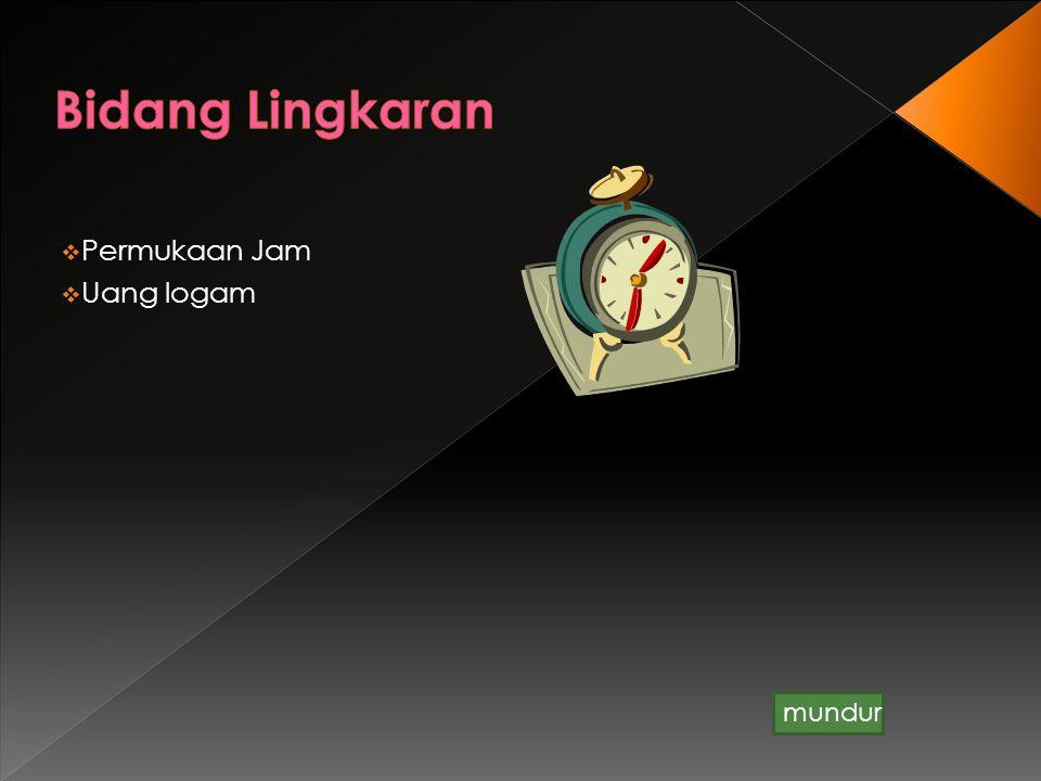 Diameter BusurTali busur Tembereng Juring Jari-jari Pusat apotema Kembali