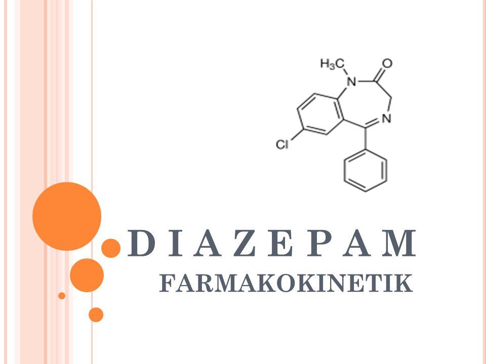 D I A Z E P A M FARMAKOKINETIK