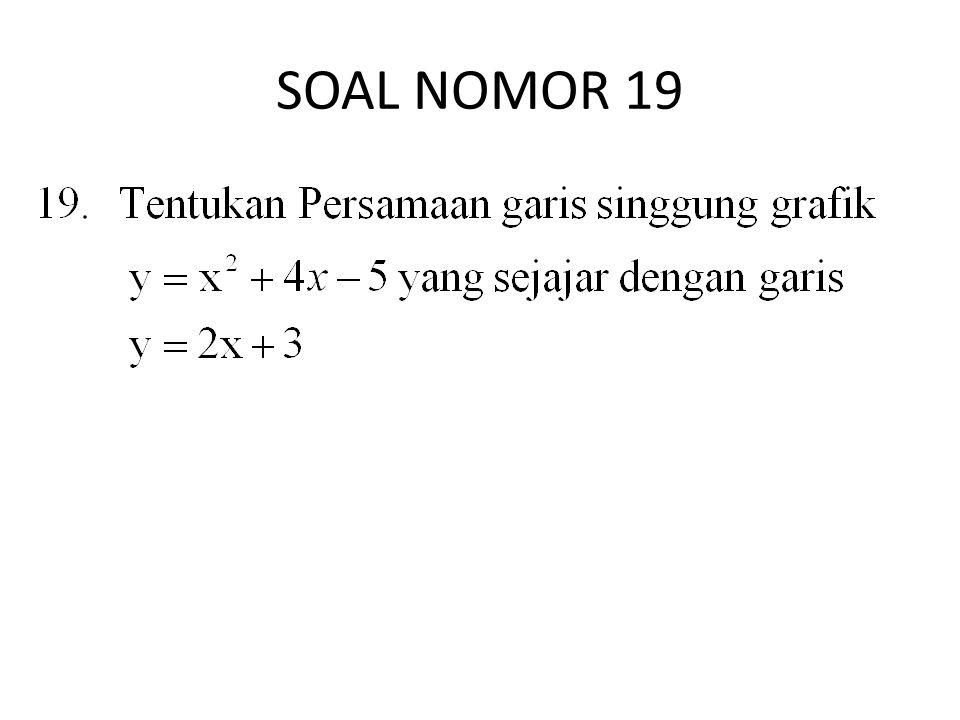 SOAL NOMOR 19