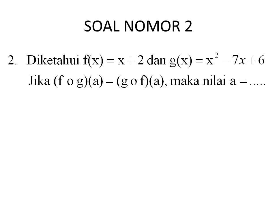 SOAL NOMOR 3