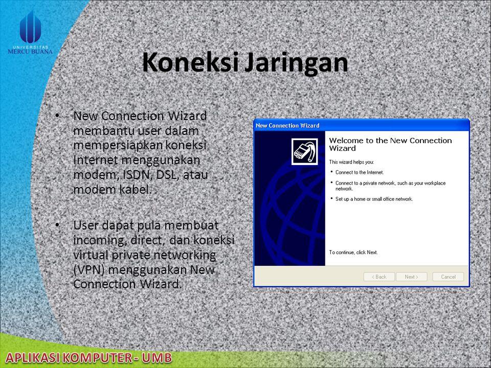 22/08/2014 Pengaturan jaringan Instalasi dan Konfigurasi Menjalankan Network Setup Wizard pada setiap komputer dalam jaringan