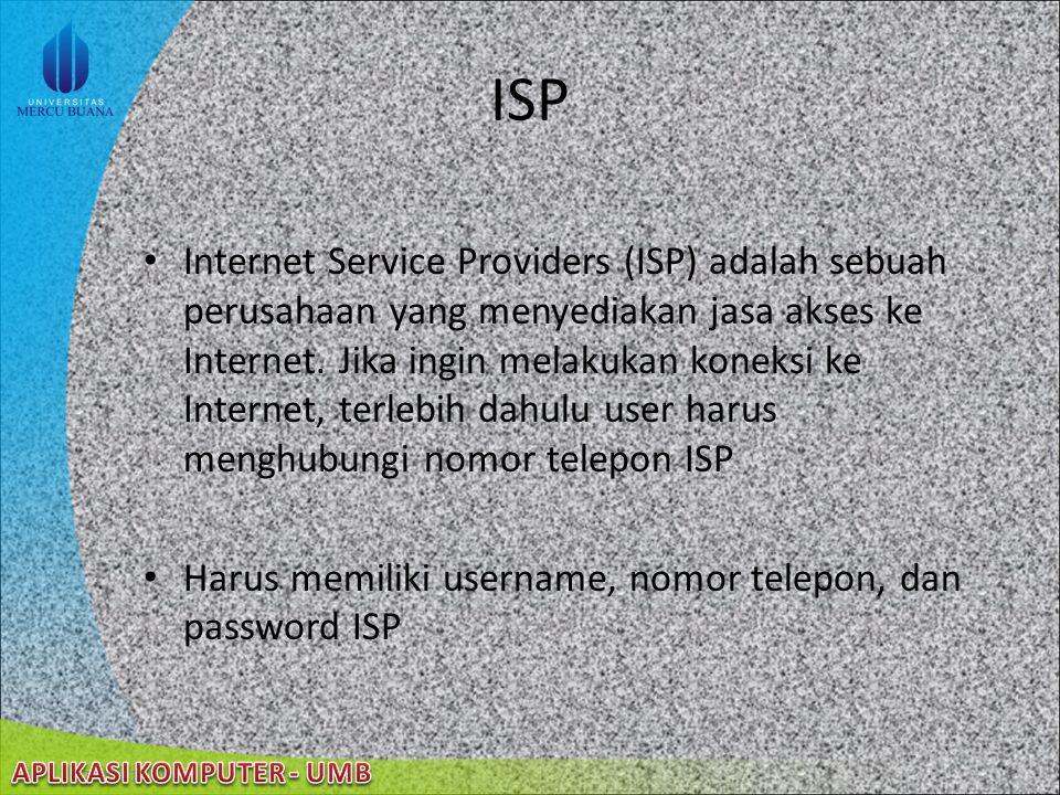 22/08/2014 Pengaturan Koneksi Jaringan Konfigurasi Koneksi Jaringan Memutuskan Koneksi jaringan Monitoring Koneksi Jaringan Jenis Koneksi Jaringan: Di