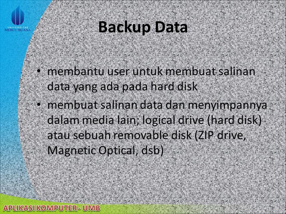 22/08/2014 Mempertahankan Performa Komputer User dapat mengubah bagaimana Windows mengunakan prosesor dan memori komputer untuk meningkatkan performa.