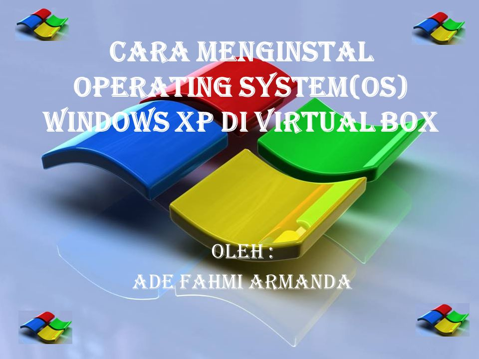 Pertama Buka VIRTUAL BOX.