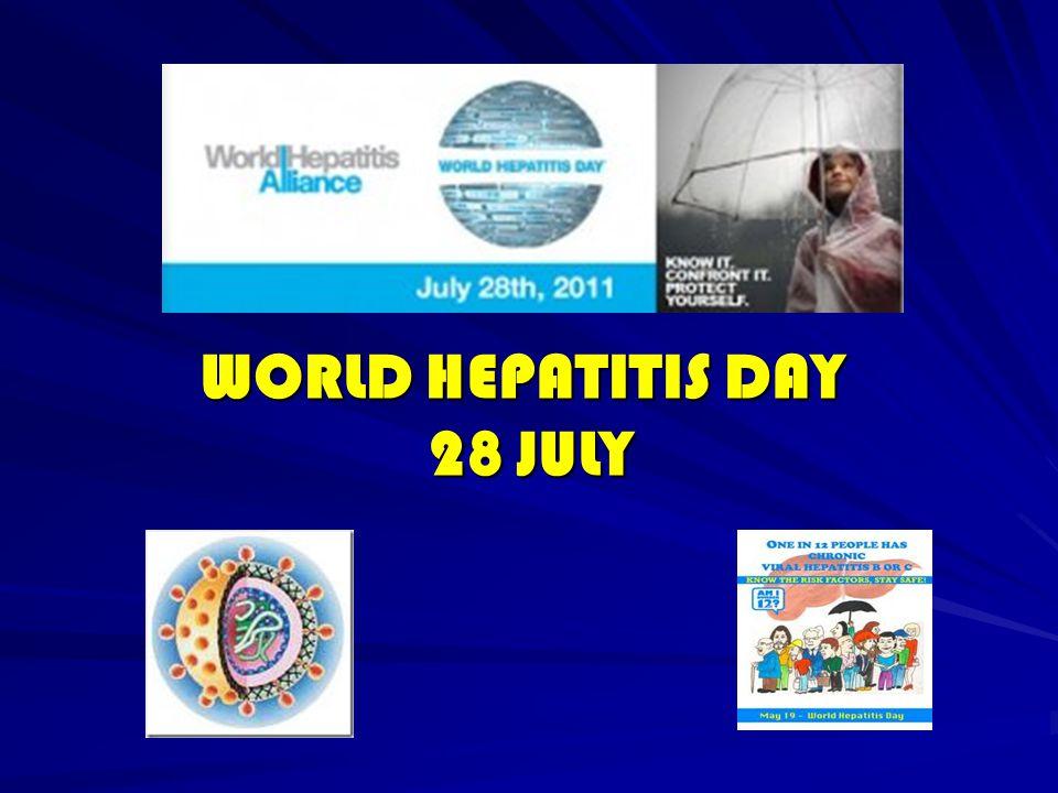 Hepatitis C Radang (inflamasi) hati akibat infeksi virus hepatitis C (HCV) Radang (inflamasi) hati akibat infeksi virus hepatitis C (HCV) Ditularkan melalui darah dan/atau cairan tubuh yang terinfeksi (transfusi darah, hubungan seks, tato, tindik dan injeksi) Ditularkan melalui darah dan/atau cairan tubuh yang terinfeksi (transfusi darah, hubungan seks, tato, tindik dan injeksi) 80-90% kasus menunjukkan gejala dan tanda yang minimal, kecuali bila komplikasi telah terjadi (pada tahap lanjut)  silent killer 80-90% kasus menunjukkan gejala dan tanda yang minimal, kecuali bila komplikasi telah terjadi (pada tahap lanjut)  silent killer